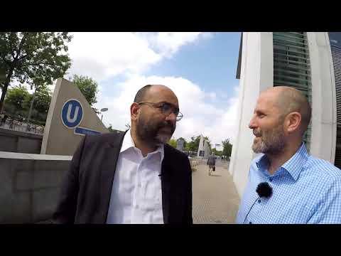 Marathon mit der Politik - Interview mit Omid Nouripour (Bündnis 90/ Die Grünen)