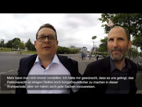 Marathon mit der Politik - Interview mit Stefan Schwartze (SPD)