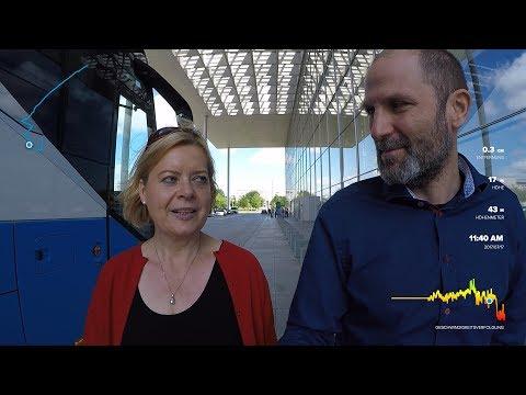Marathon mit der Politik - Interview mit Gesine Lötzsch (Die Linke)