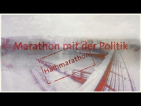 Marathon mit der Politik - Halbmarathon