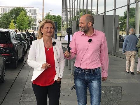 Marathon mit der Politik - Interview mit Sabine Poschmann