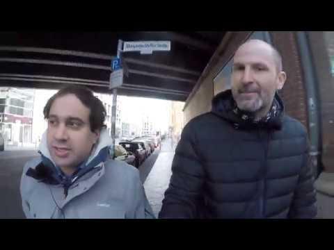 Marathon mit der Politik - Interview mit Niema Movassat (Die Linke)