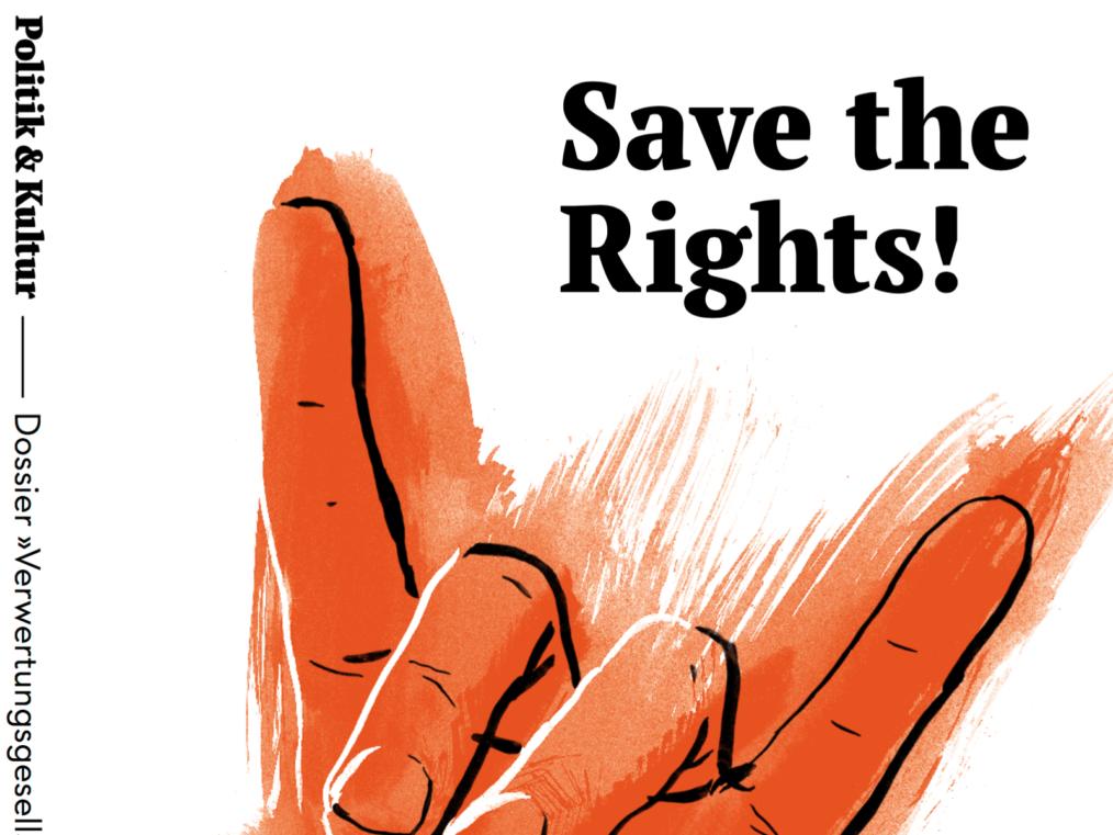 Save the Rights! – Dossier Verwertungsgesellschaften