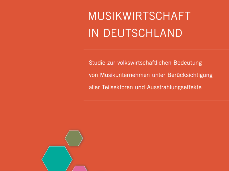 Studie zur deutschen Musikwirtschaft