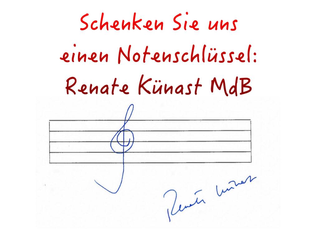 Renate Künast MdB zum VGG
